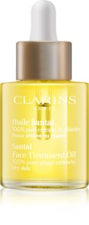 Clarins Santal Face Treatment Oil  óleo calmante e restaurador para pele seca