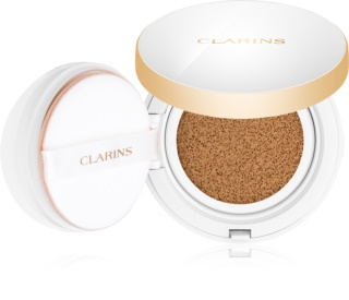 Clarins Face Make-Up Everlasting Cushion dolgoobstojni tekoči puder v gobici SPF 50