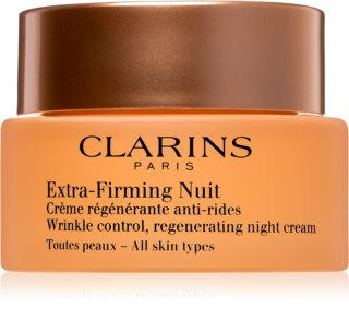 Clarins Extra-Firming Night стягащ нощен крем с регенериращ ефект   за всички типове кожа на лицето