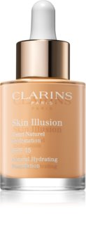 Clarins Skin Illusion Natural Hydrating Foundation Radiance Moisturising Makeup SPF 15