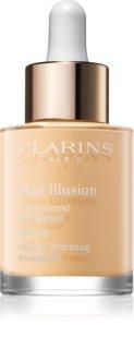Clarins Skin Illusion Natural Hydrating Foundation rozjasňující hydratační make-up SPF 15