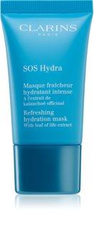 Clarins SOS Hydra mască hidratantă răcoritoare