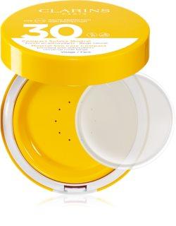 Clarins Mineral Sun Care Compact минерален защитен флуид за лице SPF 30