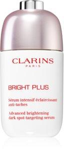 Clarins Bright Plus Advanced dark spot-targeting serum Uppljusande ansiktsserum  För att behandla mörka fläckar