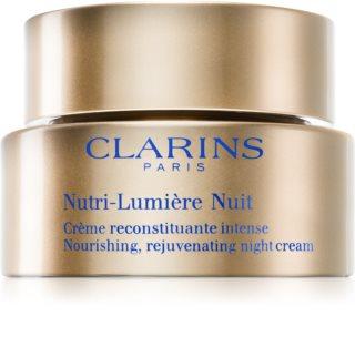Clarins Nutri-Lumière Night подхранващ нощен крем