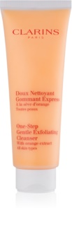 Clarins One Step Gentle Exfoliating Cleanser with Orange Extract sanftes Reinigungs-Peeling