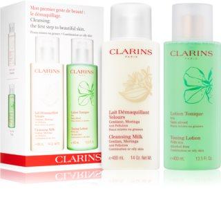 Clarins Cleansers kozmetika szett hölgyeknek