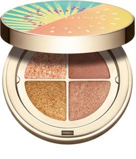Clarins Summer Frozen Collection 2021 Eye Shadow Palette dlouhotrvající oční stíny se zrcátkem a aplikátorem