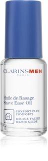 Clarins Men Shave Ease Oil олио за бръснене за всички типове кожа на лицето