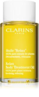 Clarins Tonic Body Treatment Oil релаксиращо олио за тяло с растителни екстракти