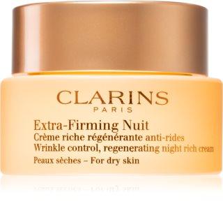 Clarins Extra-Firming Night nočna krema za učvrstitev kože in proti gubam za suho kožo