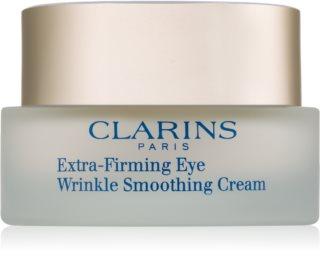 Clarins Extra-Firming Eye Wrinkle Smoothing Cream разглаживающий крем для кожи вокруг глаз против морщин