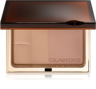 Clarins Bronzing Duo Mineral Powder Compact Bronzingspuder med mineraler