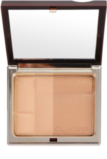Clarins Face Make-Up Bronzing Duo Mineral Bronzing Powder