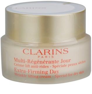 Clarins Extra-Firming Lyftande dagkräm mot rynkor för torr hud
