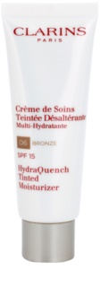 Clarins HydraQuench Tinted Moisturizer Extra Hydrating Light Tinted Moisturiser SPF 15