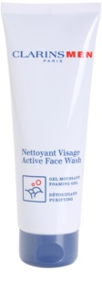 Clarins Men Active Face Wash Active Face Wash Foaming Gel