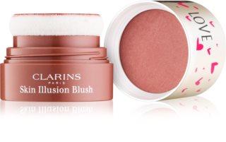 Clarins Face Make-Up Skin Illusion kompaktní tvářenka