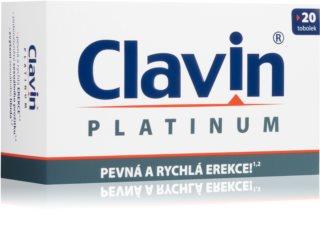 Clavin PLATINUM podpora erekce s rychlým nástupem účinku