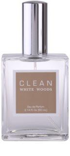 CLEAN White Woods eau de parfum unissexo