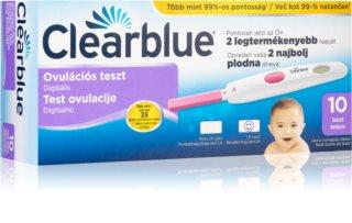 Clearblue Ovulační digitální test domácí test k zjištění období ovulace