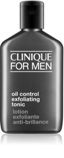Clinique For Men™ Oil Control Exfoliating Tonic тоник за мазна кожа