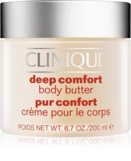 Clinique Deep Comfort burro corpo per pelli molto secche