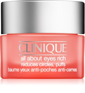 Clinique All About Eyes Rich Moisturizing Eye Cream to Treat Swelling and Dark Circles