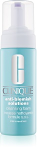 Clinique Anti-Blemish Solutions Cleansing Foam for Problematic Skin, Acne