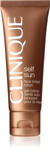 Clinique Self Sun™ Face Tinted Lotion crème auto-bronzante visage