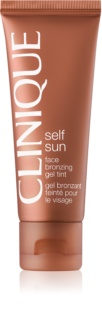 Clinique Self Sun gel facial bronceador