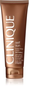 Clinique Self Sun автобронзант мляко за тяло