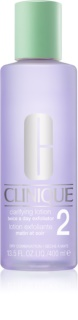 Clinique 3 Steps Clarifying Lotion 2 lozione tonica per pelli secche e miste