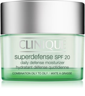 Clinique Superdefense Moisturizing and Protecting Day Cream for Oily and Combination Skin