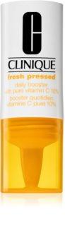 Clinique Fresh Pressed™ Daily Booster with Pure Vitamin C 10% C-Vitamiini Kirkastava Seerumi  Ikääntymistä Estävän Vaikutuksen Kanssa