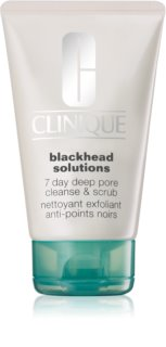 Clinique Blackhead Solutions reinigendes Hautpeeling gegen Mitesser