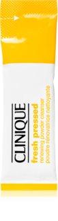 Clinique Fresh Pressed™ Renewing Powder Cleanser with Pure Vitamin C Puhdistava Jauhe C-Vitamiinin Kanssa