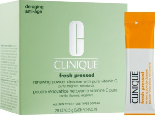 Clinique Fresh Pressed reinigender Puder mit Vitamin C