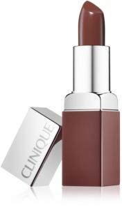 Clinique Pop Matte матуюча помада - основа під макіяж 2 в 1
