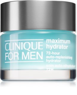 Clinique For Men™ Maximum Hydrator 72-Hour Auto-Replenishing Hydrator intenzív géles krém dehidratált bőrre