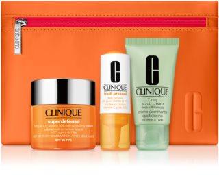 Clinique Superdefense SPF 25 Kosmetik-Set  (für Damen)