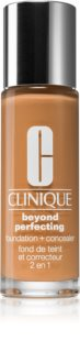 Clinique Beyond Perfecting™ Foundation + Concealer make-up a korektor 2 v 1