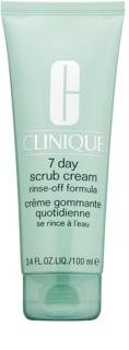 Clinique 7 Day Scrub Cream Reinigungspeeling zur täglichen Anwendung