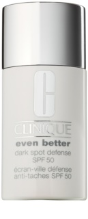 Clinique Even Better creme protetor com cor anti-manchas de pigmentação SPF 50
