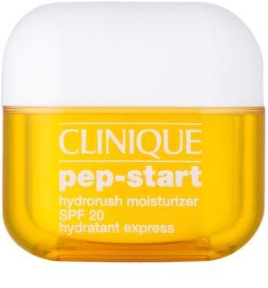 Clinique Pep-Start crema hidratante y protectora SPF 20