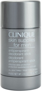 Clinique For Men™ Stick-Form Antiperspirant Deodorant trdi dezodorant za vse tipe kože