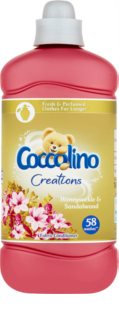 Coccolino Creations Honeysuckle & Sandalwood μαλακτικό ρούχων