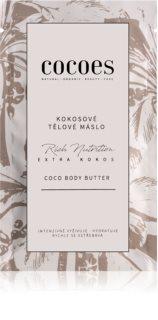 COCOES Rich Nutrition Extra Kokos intenzivno vlažilno maslo za telo  s kokosom