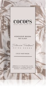 COCOES Intensive Treatment Extra Kokos maschera per capelli con cocco