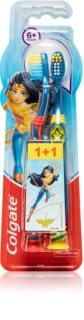 Colgate Smiles Wonder Woman Tandborste för barn 6+ Mjuk